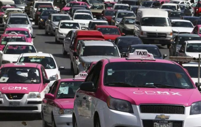 Robo en taxis de la CDMX aumentó 159% comparado con 2018
