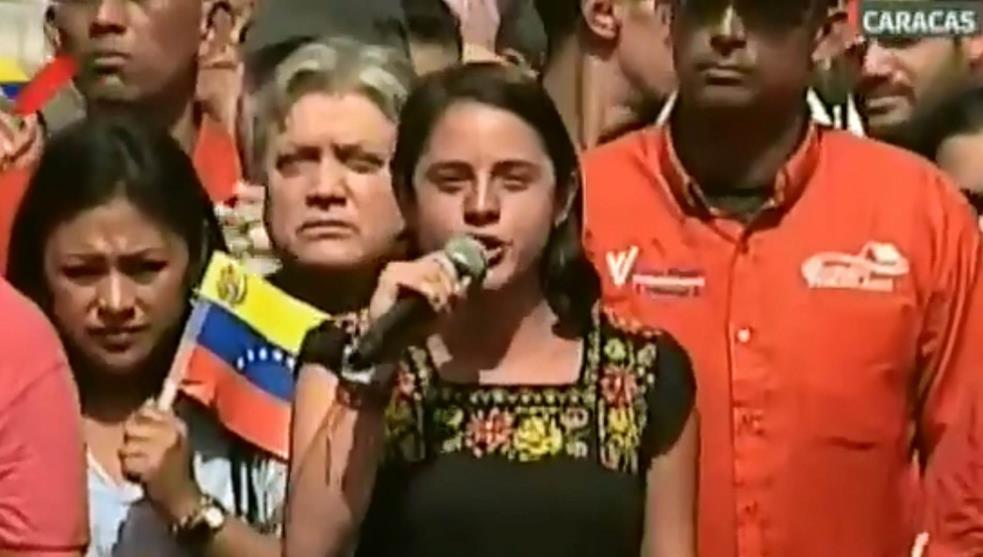 Diputada exaltó gobierno de Maduro en Foro de Sao Paulo