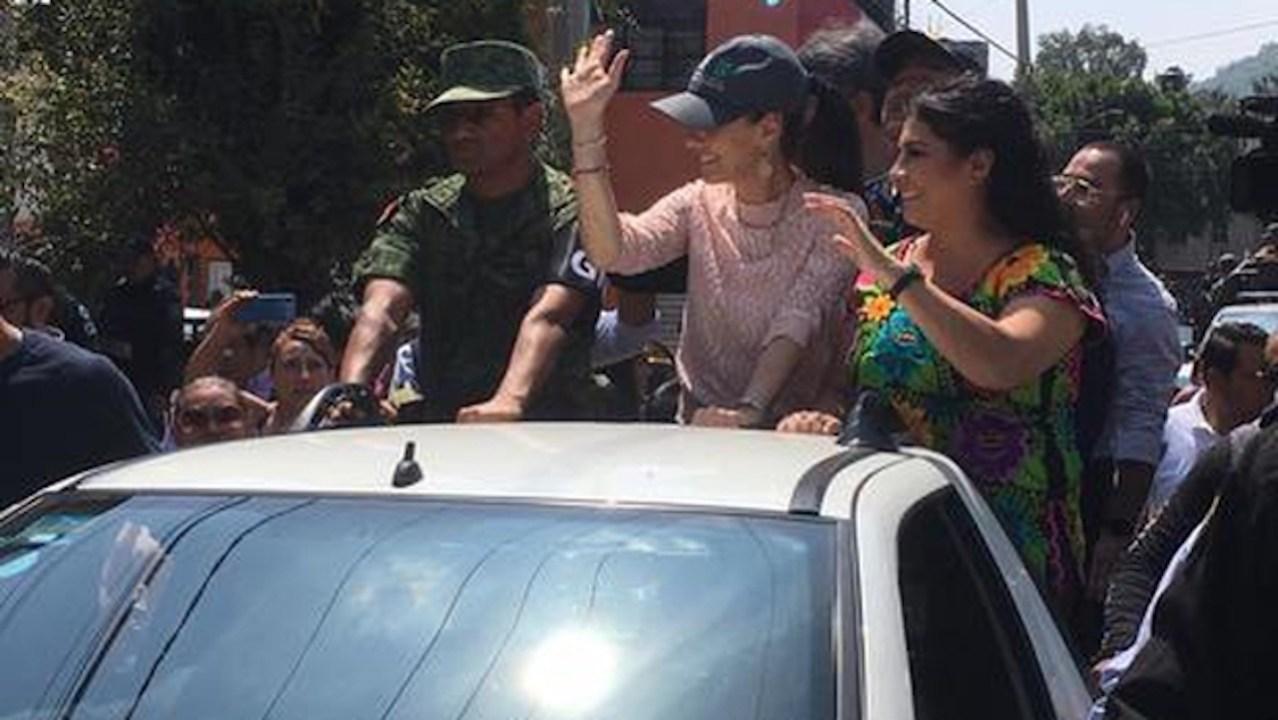 Claudia Sheinbaum recibe a Guardia Nacional en Iztapalapa