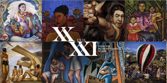 MUNAL estrena colección arte que fueron portadas libros SEP