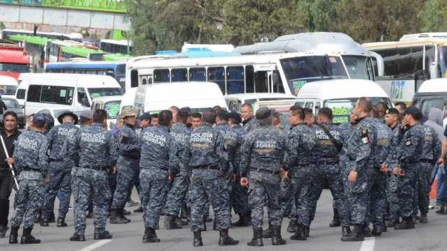 Policía Federal está en paro nacional desde las 9 am