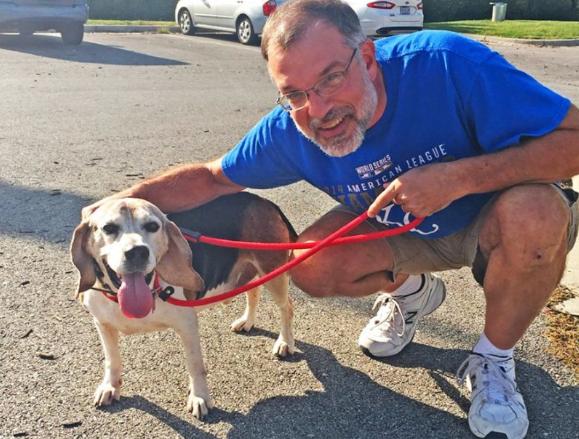 Hombre crea asilo para perritos viejos que ya nadie adoptaba
