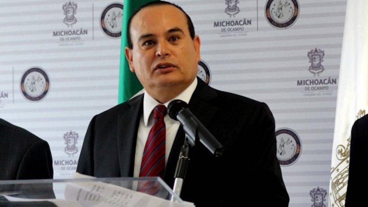 Muere titular de SSP Michoacán: cae su helicóptero
