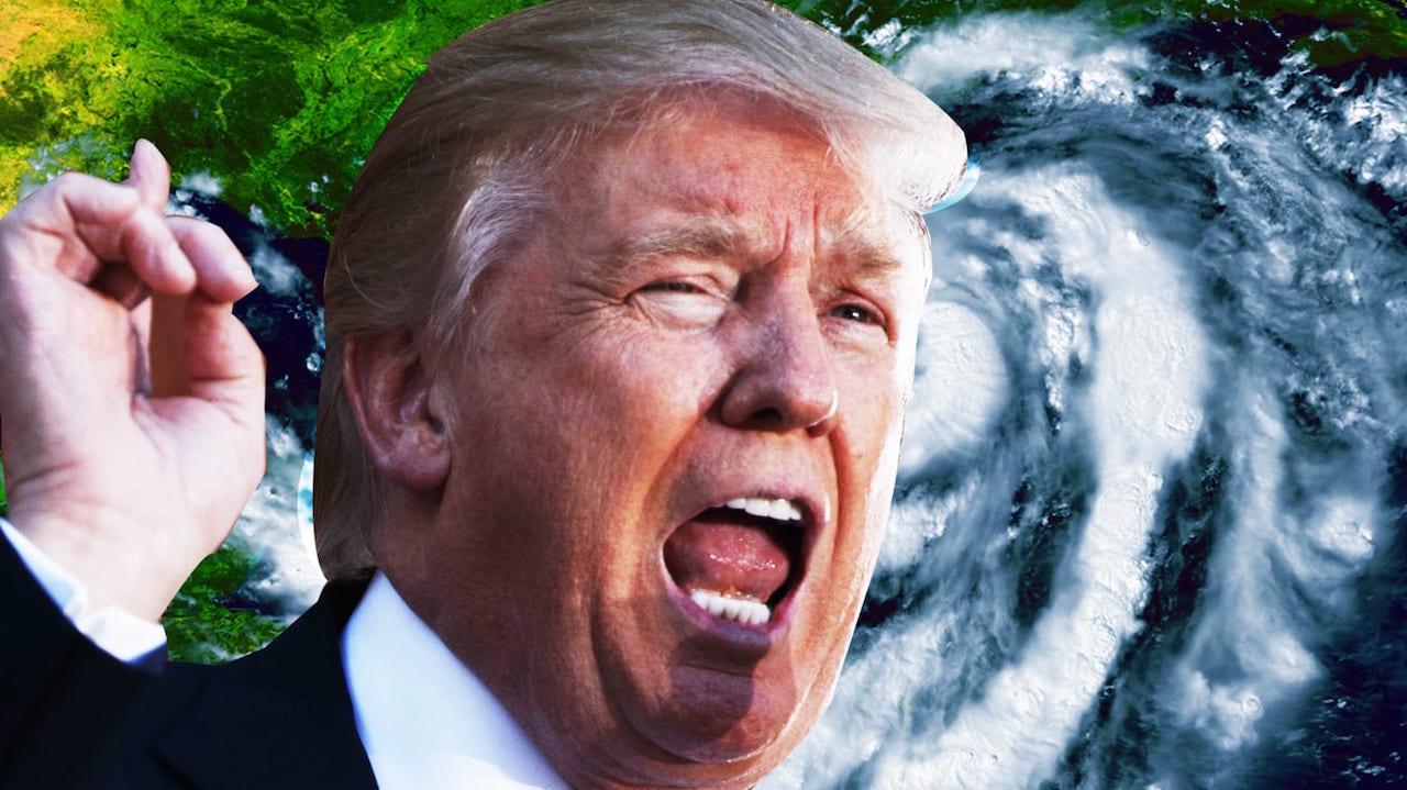 Donald Trump propuso usar bombas nucleares contra huracanes