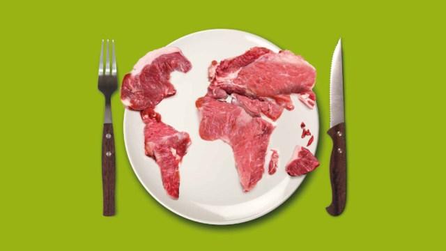 Comer carne contribuye al calentamiento global: ONU