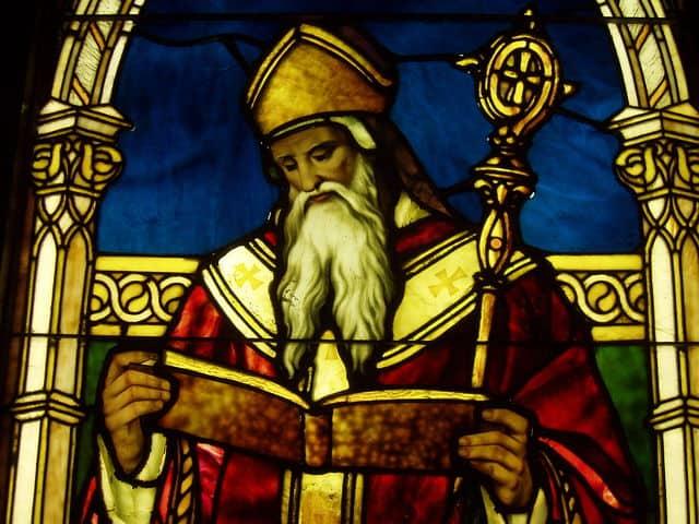 San Agustín de Hipona, posible patrón de los abuelos