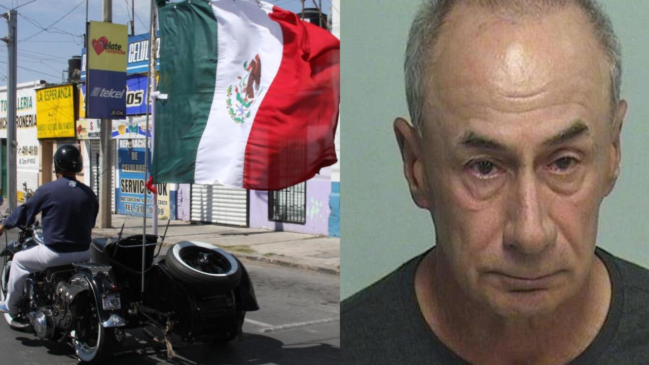 Por racismo, estadounidense apuñala motociclista mexicano i