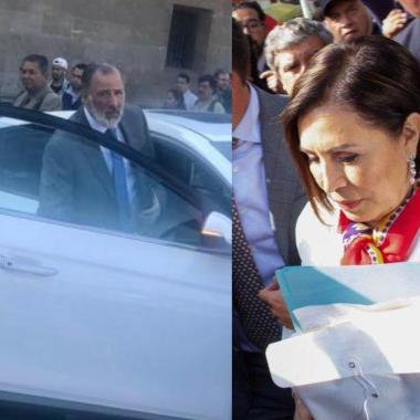 Inician proceso Rosario Robles; Meade va a Palacio Nacional