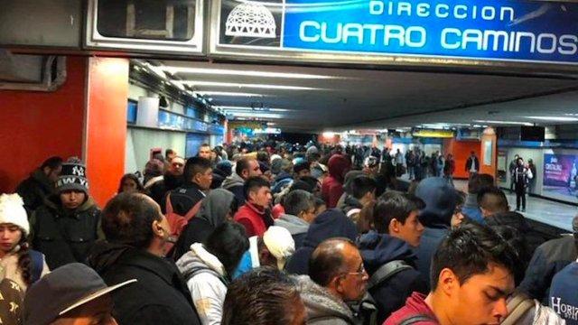 Un hombre murió tras arrojarse a las vías del metro Hidalgo