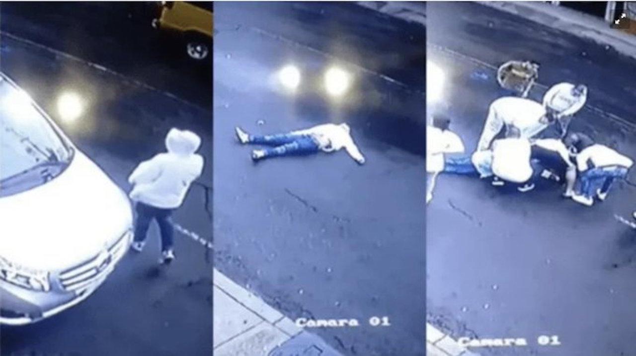 Un ladron Iba a robar una camioneta y la víctima le dispara