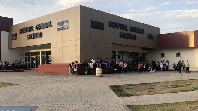 Hospitales de Saltillo se toman puente de 16 de septiembre