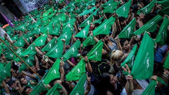 Marcha y Grito Global por despenalización de aborto en CDMX