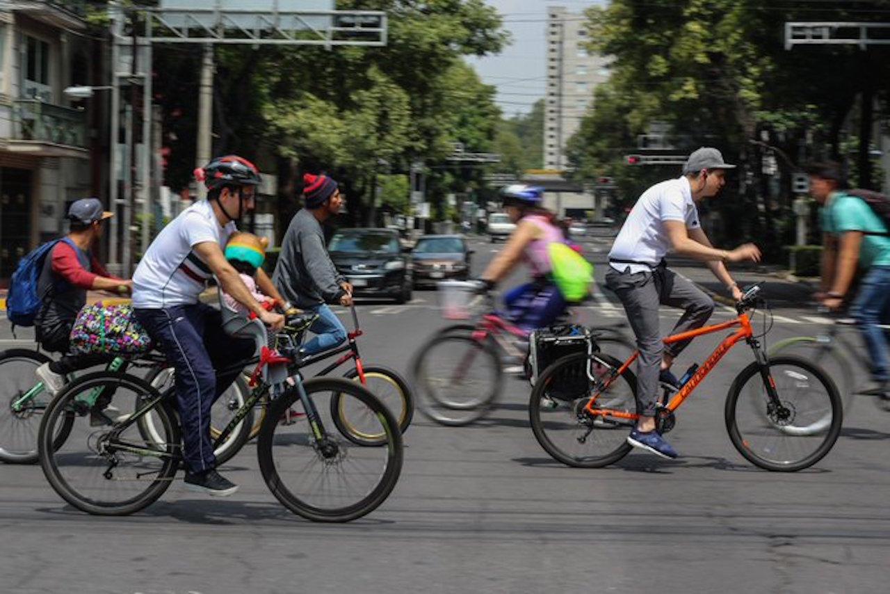 meter tu bicicleta en el metro de la CDMX a partir de las 22: 00 horas