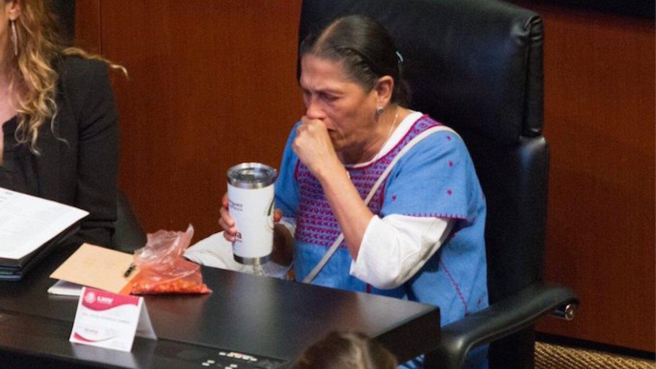 Jesusa Rodriguez se describe como senadora marihuana