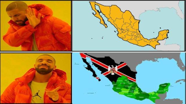 Estos estados quisieron separarse de México y no lo lograron