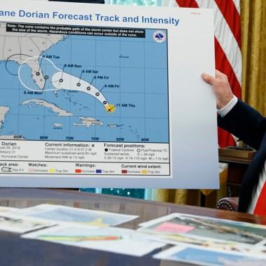 Trump y su obsesión con su mentira sobre Alabama y Dorian