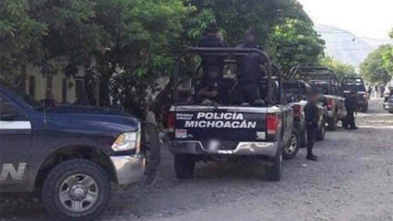 Durante una emboscada la policía estatal de Michoacán sufrió 14 bajas