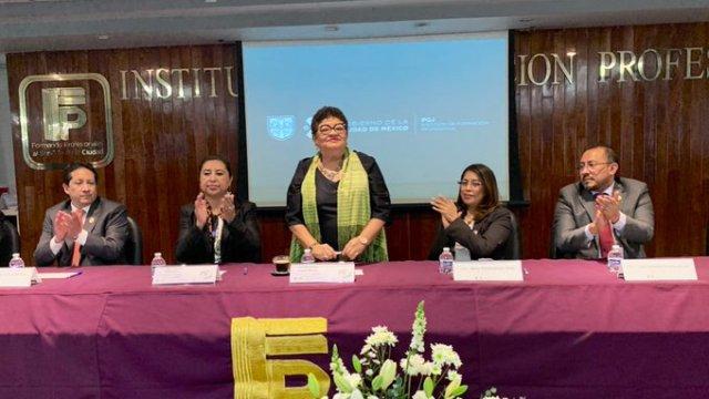 Titular de la PGJ anunció nueva sede de Servicios Periciales