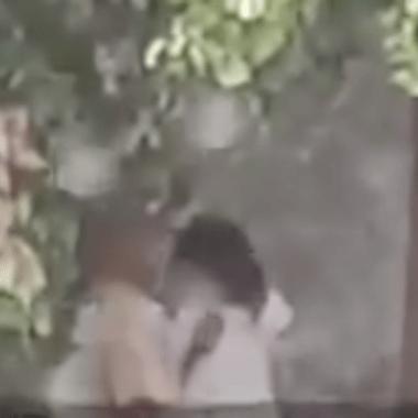 A cambio de comida un taquero besó a una niña