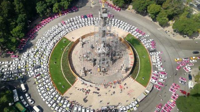 Protesta de taxistas podría alargarse otros dos días