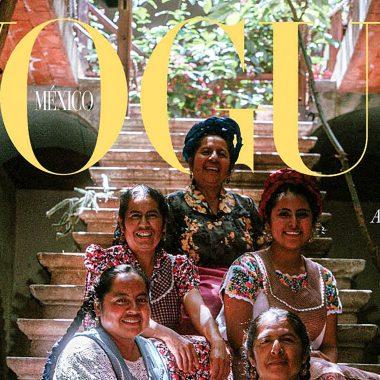 Portada Vogue de 20 aniversario homenajea mujeres mexicanas
