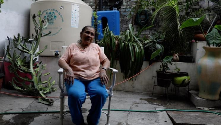 Agua, CDMX, UNAM, Valle México, Juana Rosales, habitante de San Miguel Teotongo