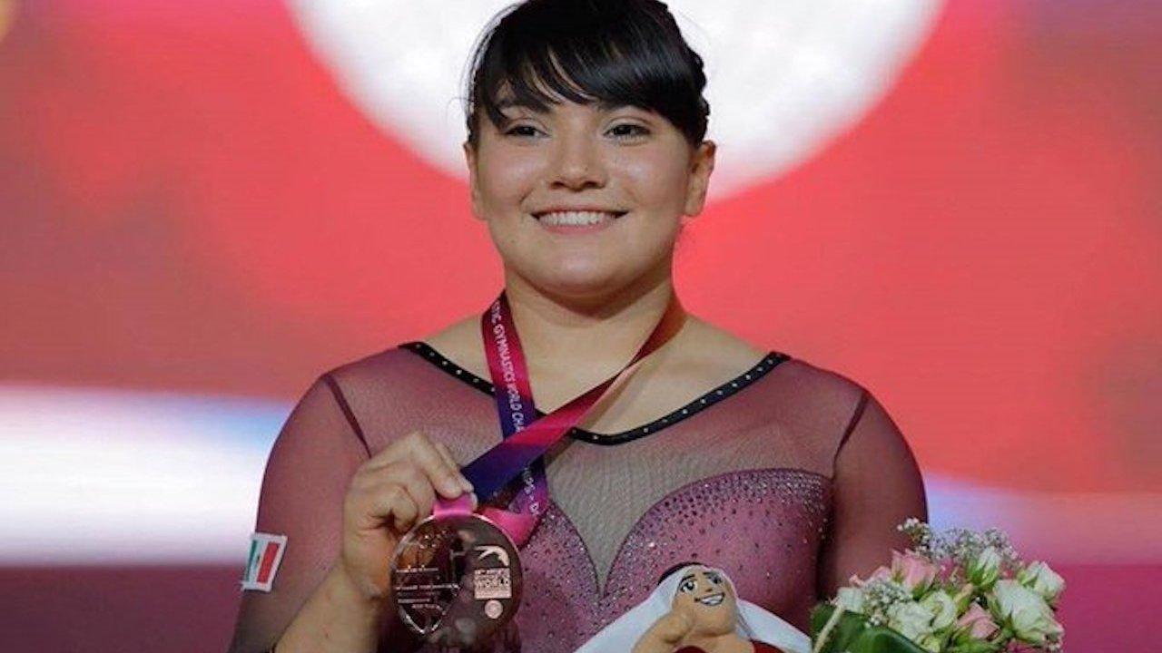 Alexa Moreno, criticaron su cuerpo y ahora es ganadora del Premio Nacional del Deportes