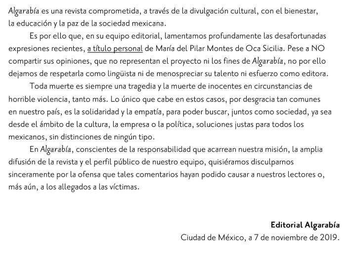 Por tuits, piden la cabeza de Pilar Sicilia