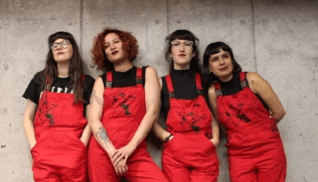 """Ellas son 'Lastesis', las creadoras de la canción """"un violador en tu camino""""."""
