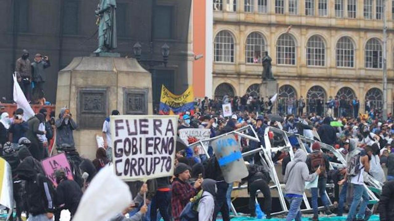 ¿Qué está pasando en Colombia? a qué se deben los disturbios y las huelgas