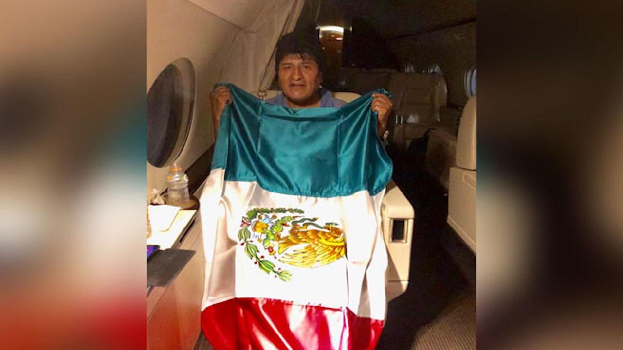 Resultado de imagen para evo morales asilo politico mexico