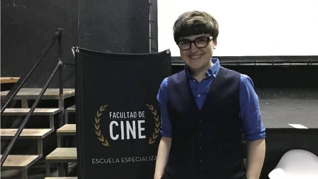"""26/11/2019 Clara Bradbury Rance presentó la traducción de su libro: """"El cine lésbico después de la teoría queer""""."""