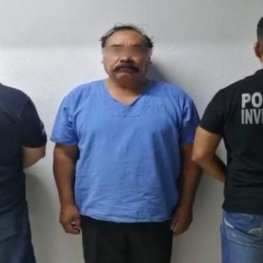 Detienen a Benito 'N' por secuestro