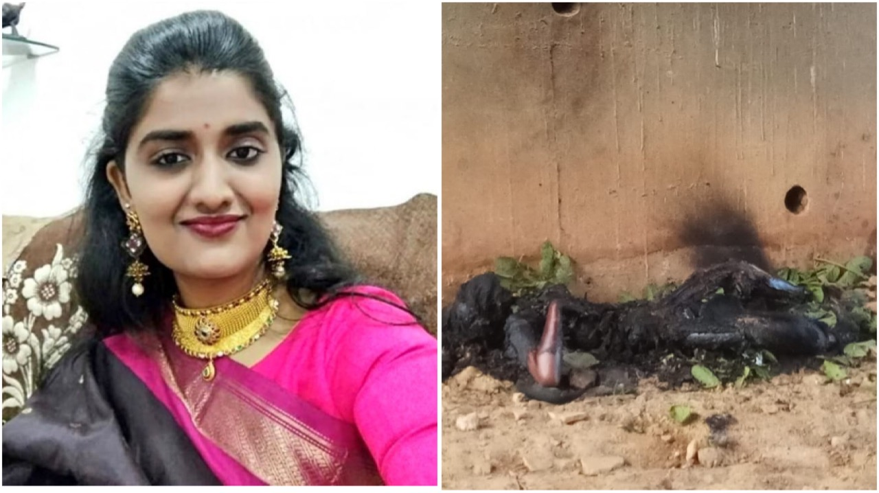 Violan y queman a joven veterinaria en la India.