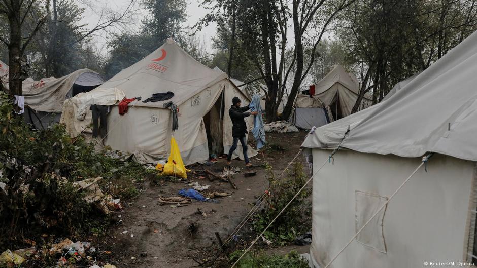 La Fria Espera En Campamentos De Refugiados Para Llegar A Europa