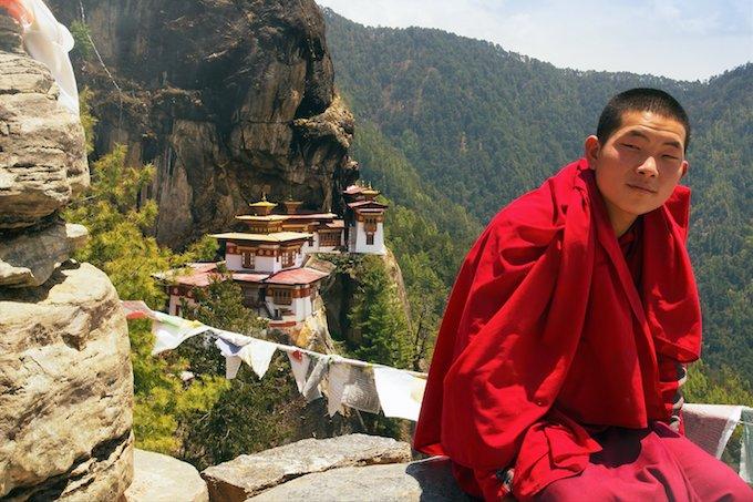 Bután y sus estrategia de crecimiento social