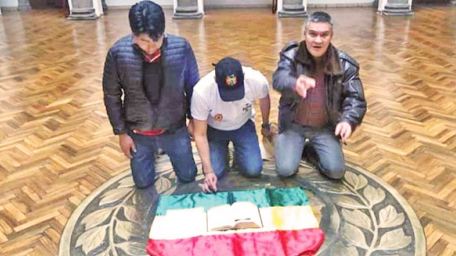 Fundamentalismo Latinoamérica Bolivia Luis Fernando Camacho