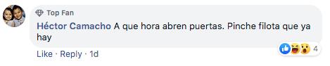 KnotFest quejas en Facebok