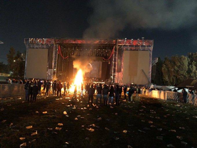 Knotfest 2019 en México terminó en caos