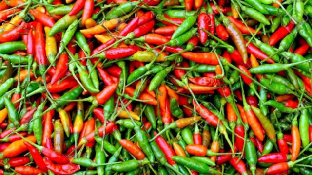 Comer chile reduce riesgo de muerte