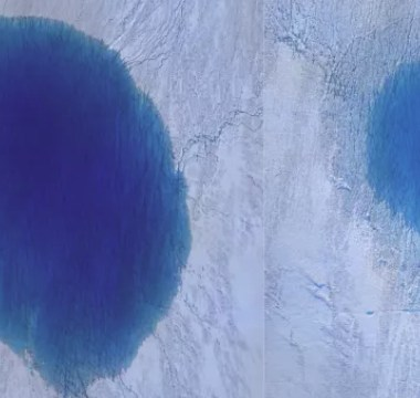 Se evaporo agua en lagos de Groenlandia