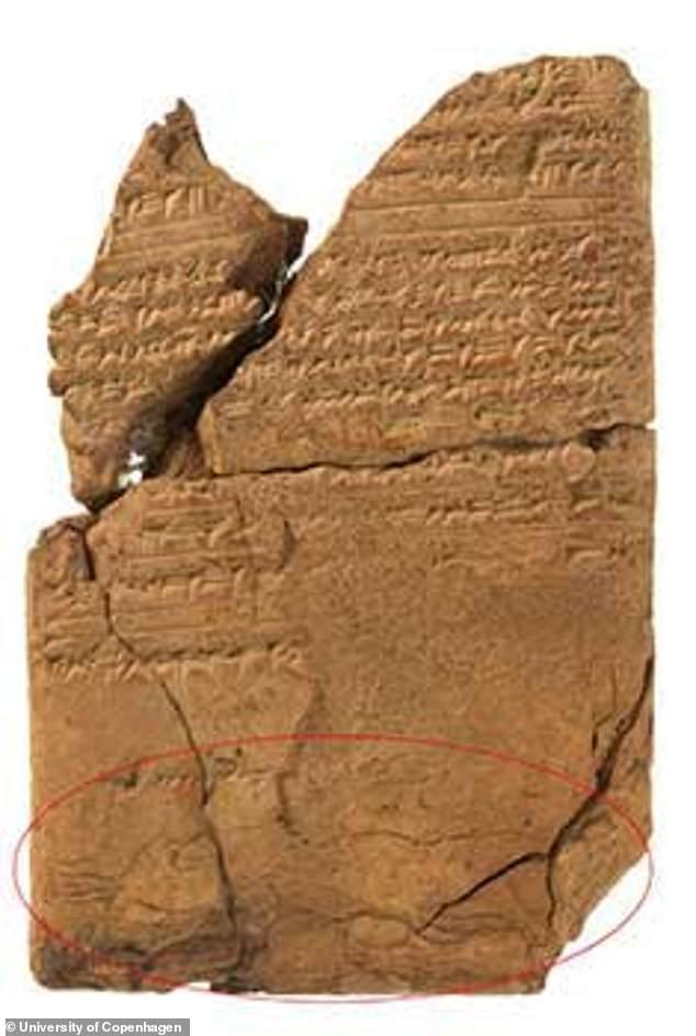 Tableta Demonio Epilepsia Asiria