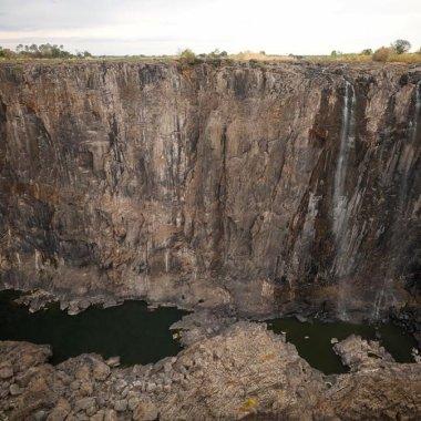 Fuertes Sequías Alcanzan A Las Cataratas Victoria