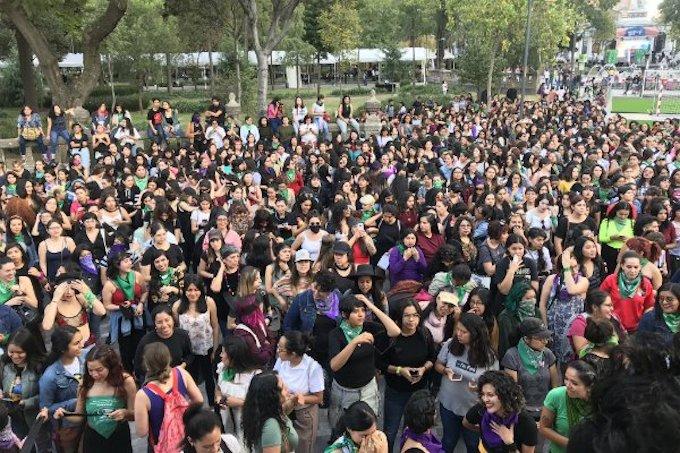 A nivel nacional se presentaron diversas marchas feministas
