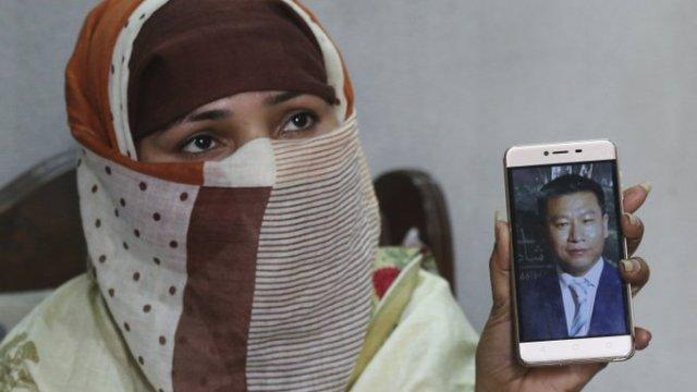 Mujer de Pakistan que fue vendida para casarse con un chino segun ap