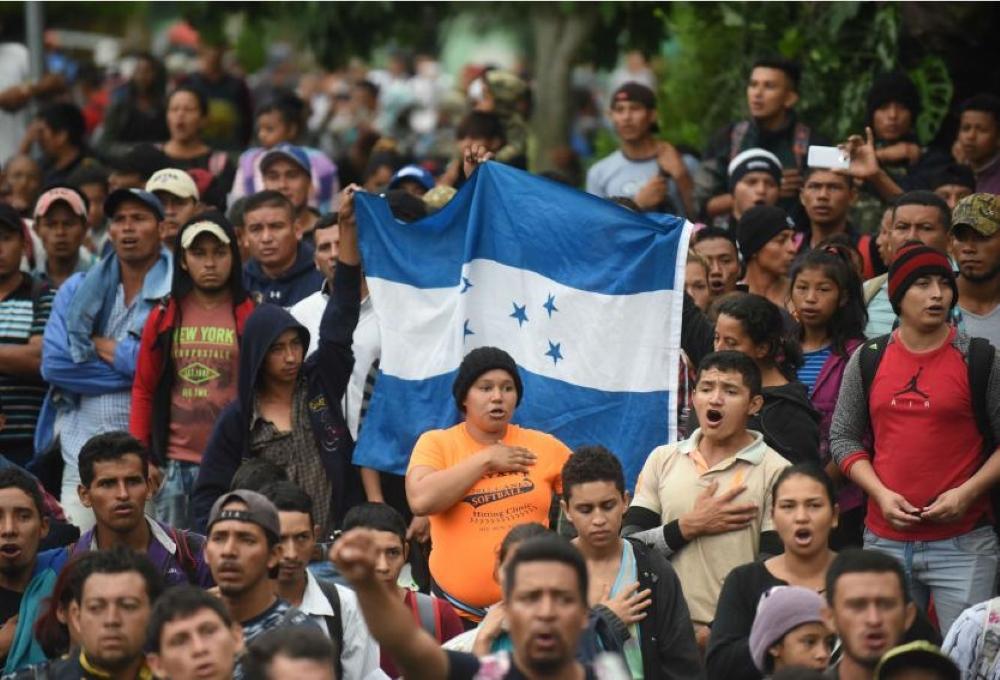 Nueva Caravana Migrante Se Acerca a México