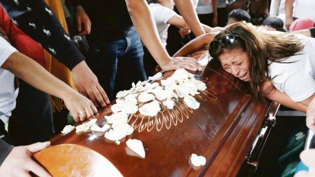 Funeral Yoshua Osorio Arias