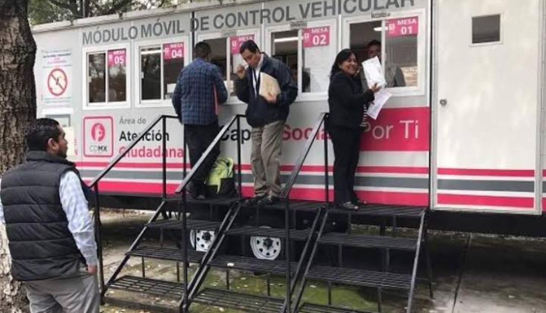 Semovi suspende indefinidamente trámites vehiculares en CDMX.