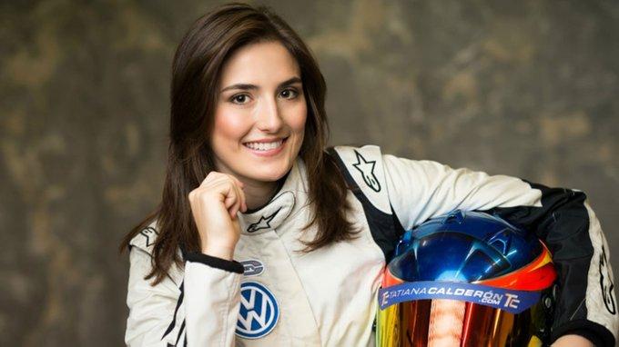 Tatiana Calderon la primera mujer en competir en la Super Fórmula