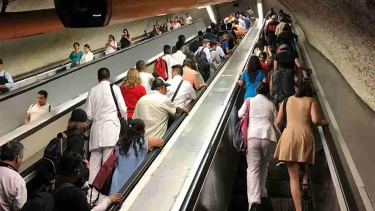 Orina: Una De Las Causas De Fallas En Escaleras Eléctricas Del Metro De La CDMX
